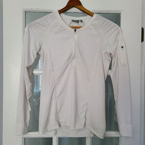 Athleta Pacifica UPF ¼ Zip Shirt